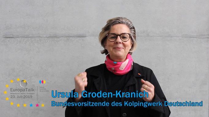 Ursula Groden-Kranich, Bundesvorsitzende des Kolpingwerk Deutschland