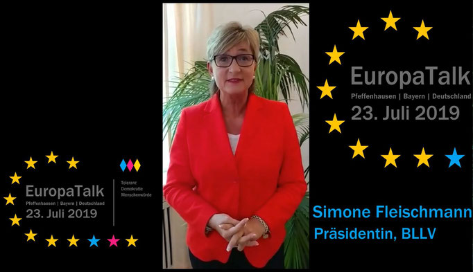 Simone Fleischmann, Präsidentin BLLV
