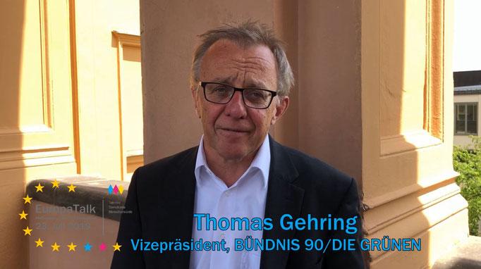 homas Gehring, Vizepräsident des Bayerischen Landtags, BÜNDNIS 90/DIE GRÜNEN