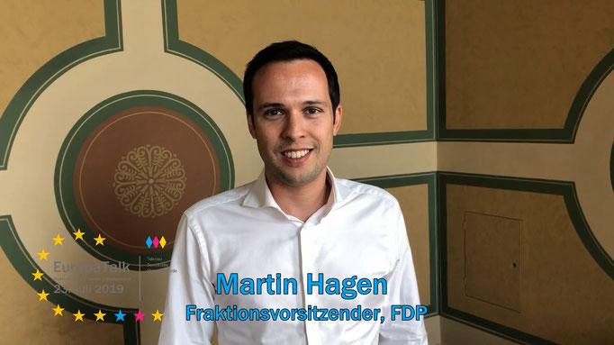 Martin Hagen, Fraktionsvorsitzender im Bayerischen Landtag, FDP
