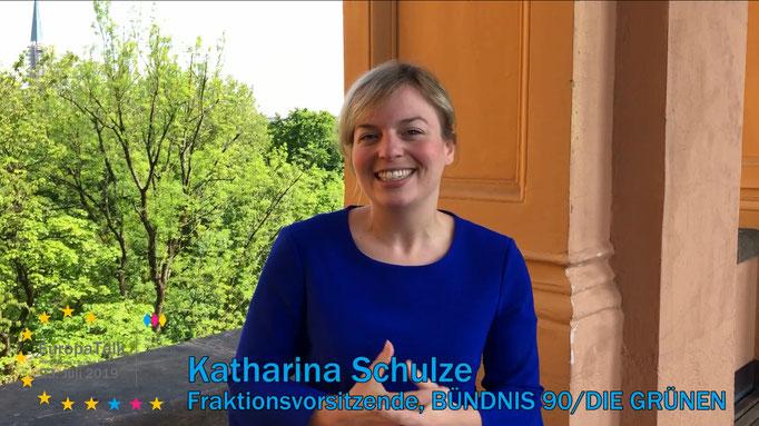 Katharina Schulze, Fraktionsvorsitzende im Bayerischen Landtag, BÜNDNIS 90/DIE GRÜNEN