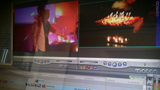 Tournage sur l'événement en live et montage du film quelques mois après