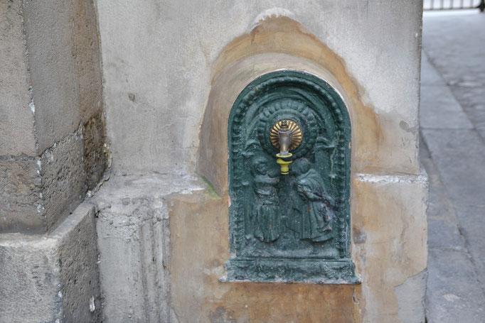 Passage du Désir, fontaine, Partie Est