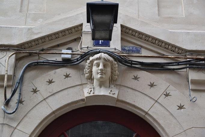 Passage du Désir, détail , Parie Est.