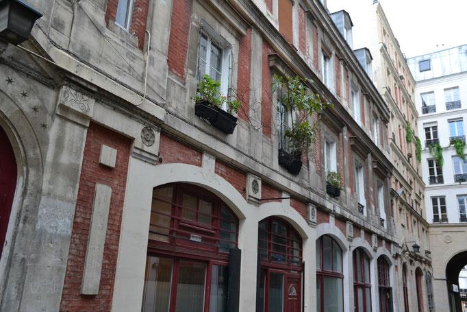 Passage du Désir, bâtiment, Partie Est