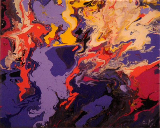 κώδικας №Α133, (24 x 30cm) ακρυλικά χρώματα σε καμβά