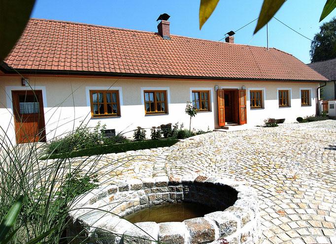 Innenhof - Ferienhaus Obermueller