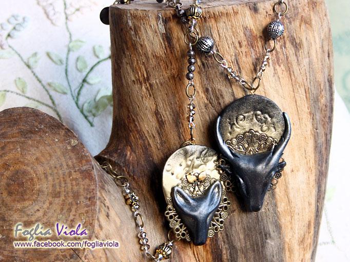Woodland Spirit necklaces