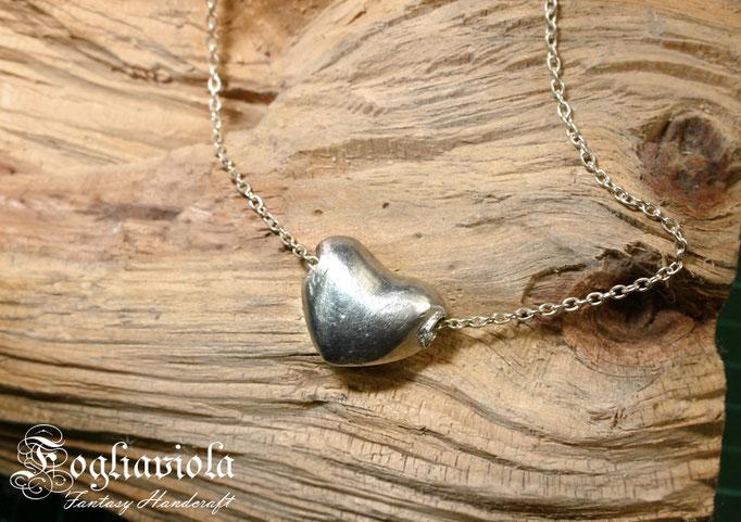 Ciondolo cuore san valentino