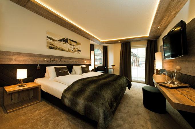 fotografiert für Wohnfloor - Hotel Garni Lamtana