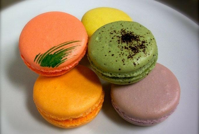 macarons par artisan pâtissier pour animation de blog par e-cime.fr