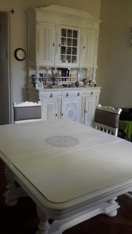 Moderniser Une Salle A Manger meubles relookés - atelier de marie-o