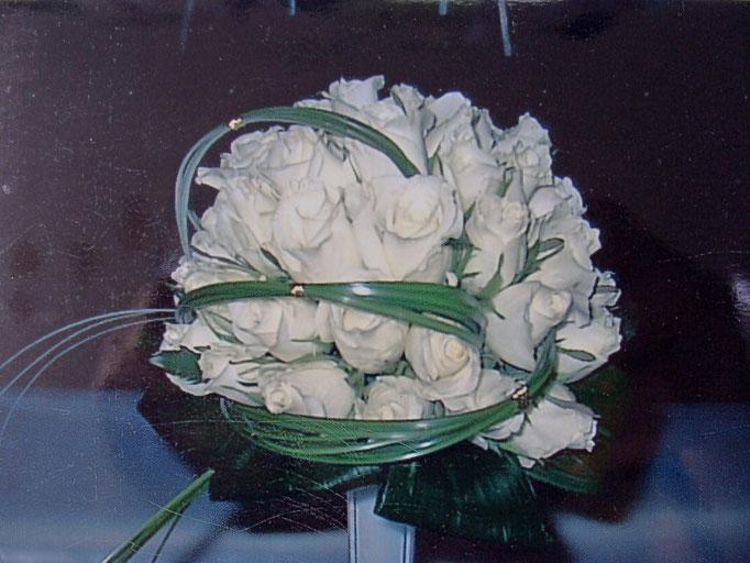 Le Bouquet rond de la mariée