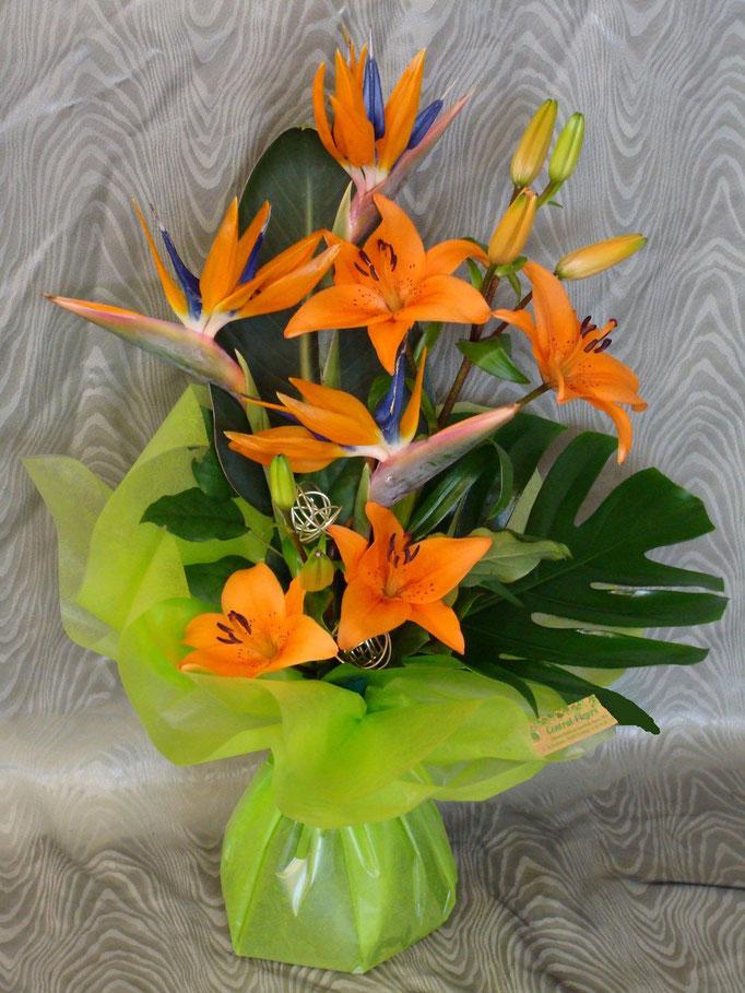 Le bouquet élancé en poche d'eau N°2