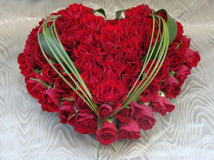 C2-Le Coeur de roses rouges