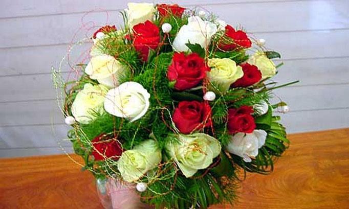 BRM6-Le Bouquet Rond de la Mariée