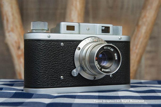 レンズ固定式レンジファインダーカメラ