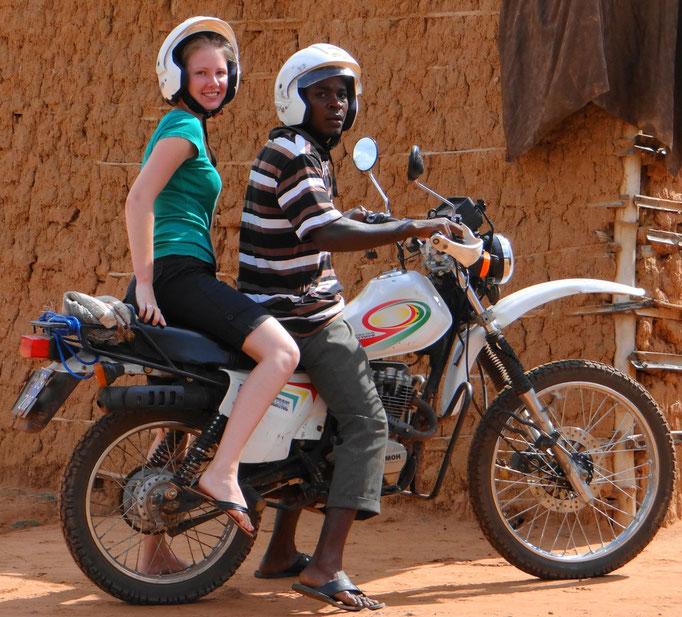 Health Centre´s motorbike to go to outreach