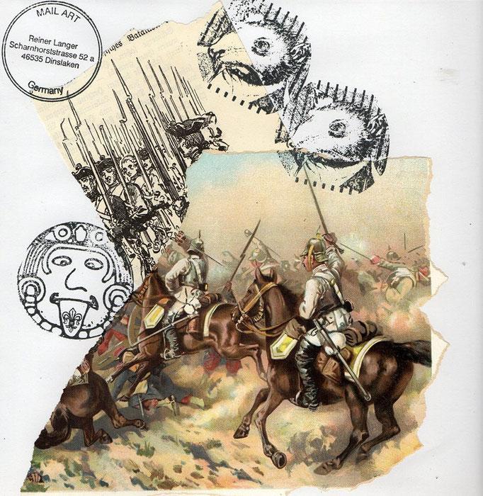 """AUSGEHENDE MAIL - ART Projekt AGAINST """" WAR """"   an Seli Na , DEUTSCHLAND"""