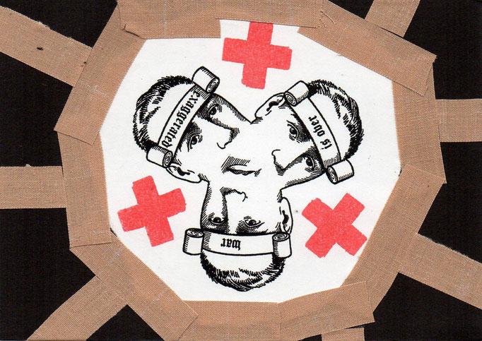"""Eingehende MAIL - ART Projekt AGAINST """" WAR """" by Reiner Langer   von Brandstifter , DEUTSCHLAND."""