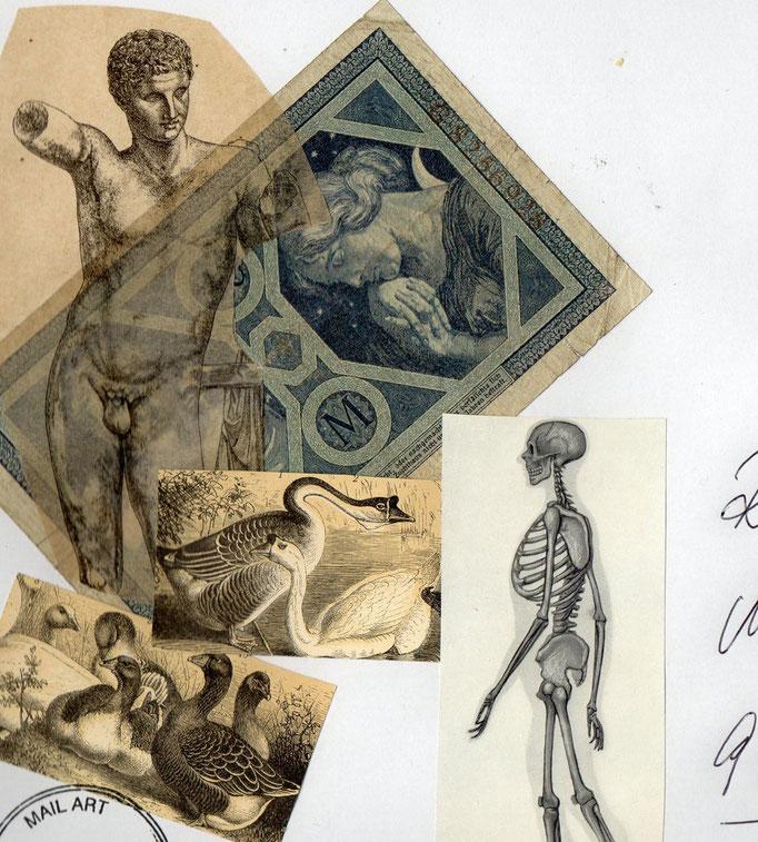 MAIL-ART für Roland Halbritter
