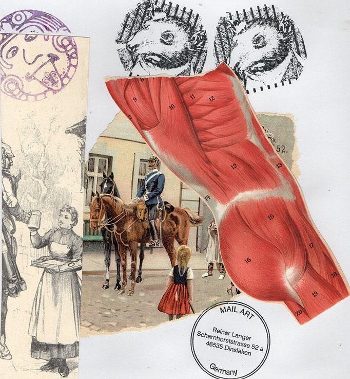 """Ausgehende MAIL - ART Projekt """" WAR """" by Reiner Langer   an Jürgen O. Olbrich , DEUTSCHLAND"""