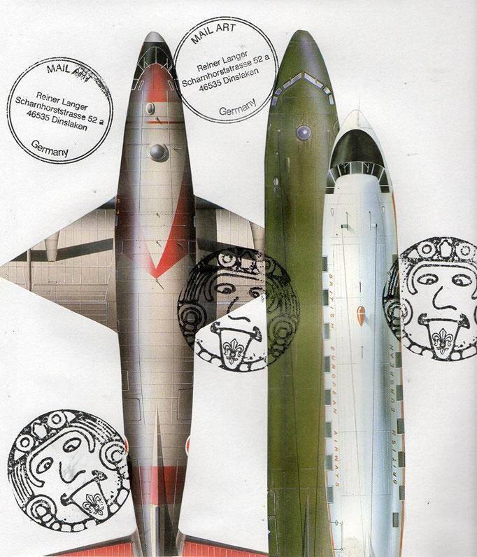 """Ausgehende MAIL - ART Projekt """" Zivile Luftfahrt """"   an g. Rodrigues , VENEZUELA"""