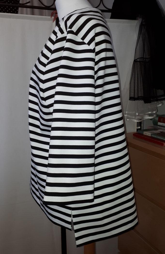 Ringel T-Shirt, gerade Form