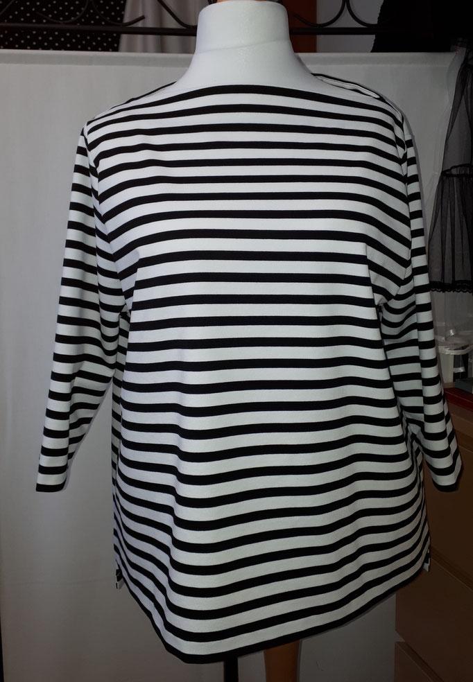 maritimes T-Shirt aus festem Jersey