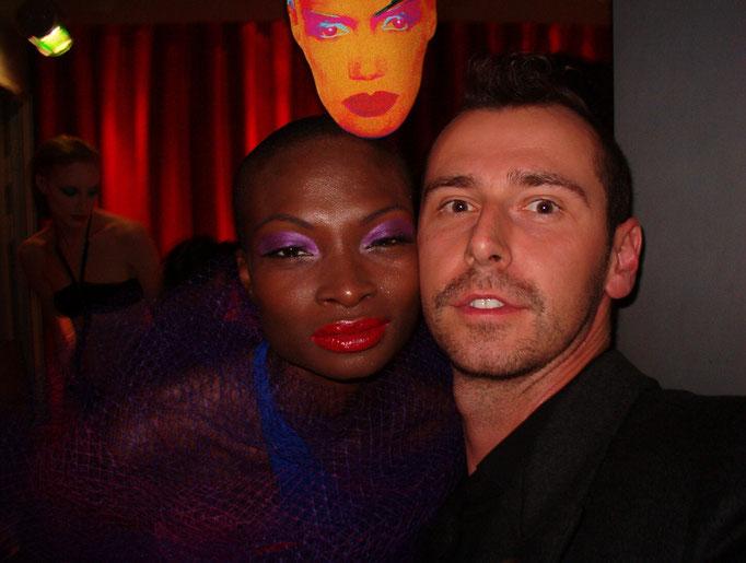 Top-Model Debra Shaw und Markus Ehrhard
