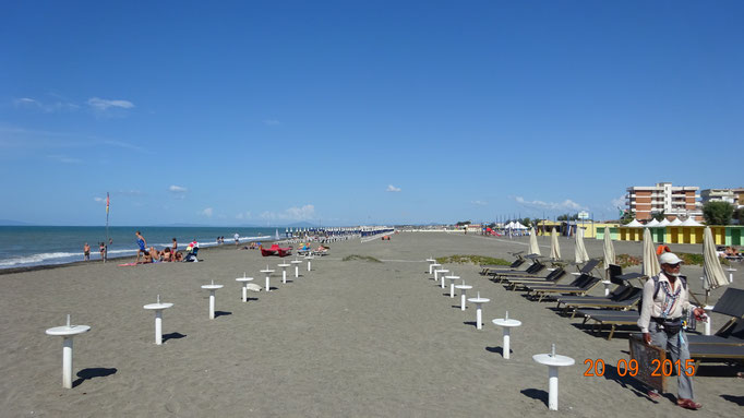 ...am Strand