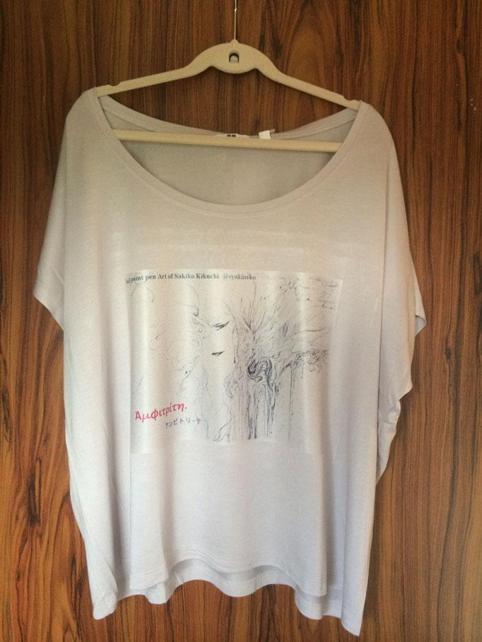 オリジナル・アイロンプリントTシャツ