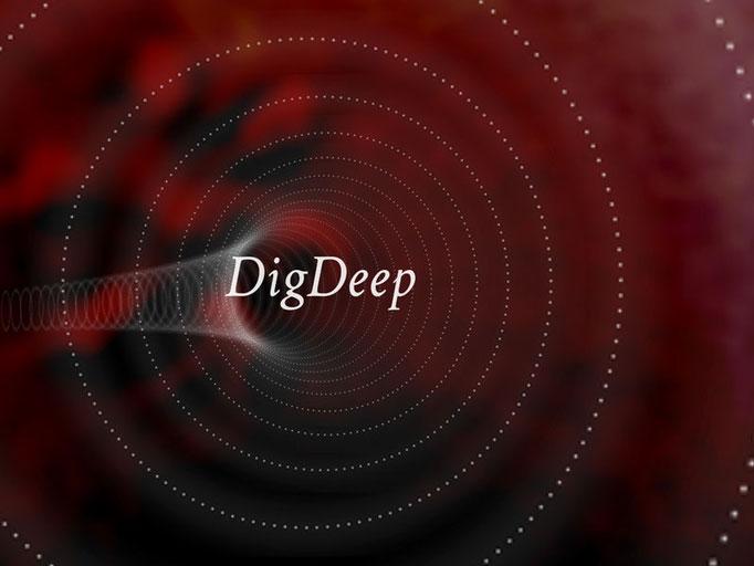 Application iPad DigDeep - Les inéditeurs