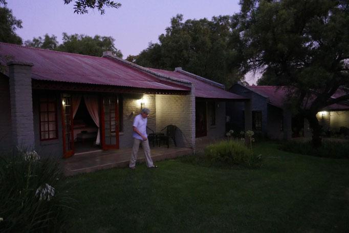 Unsere erste Unterkunft: Magalies Manor