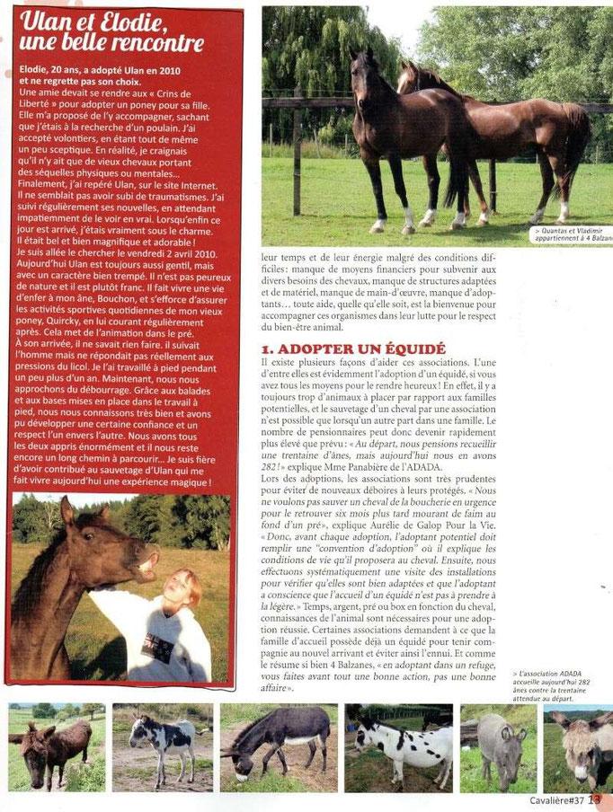 Cavalière - Août 2012 - Page 2/2