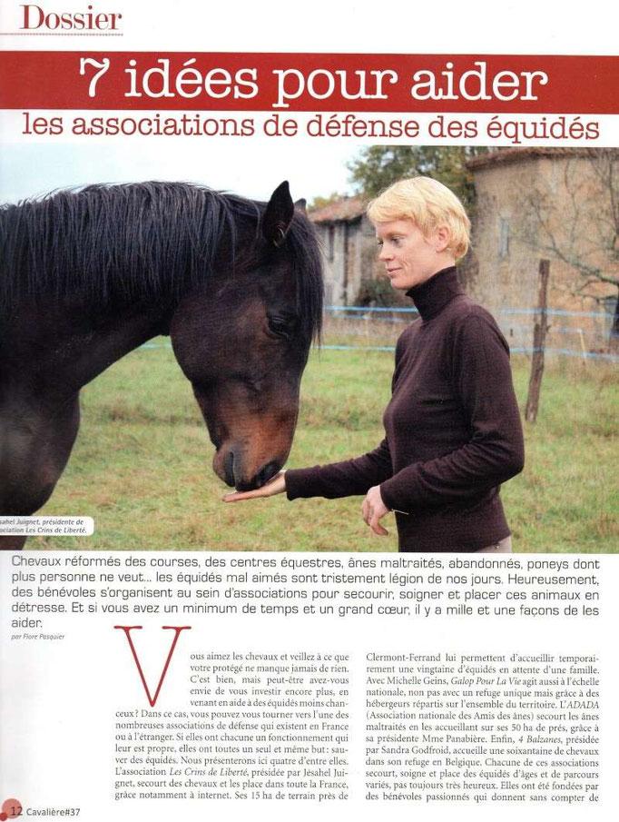 Cavalière - Août 2012 - Page 1/2