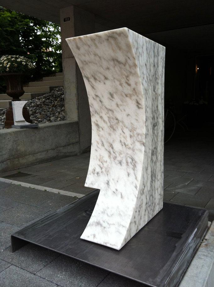 27 x 50 x 82 cm, Cristallina Marmor, Valle Maggia/TI