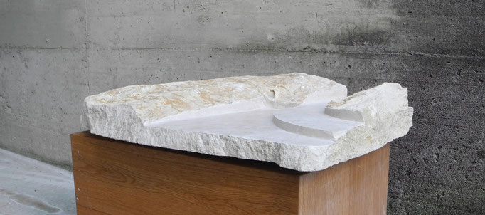 80 x 45 x 12 cm, Jura Granit gelb
