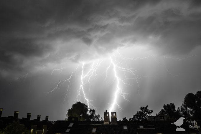Blitz in Mainz