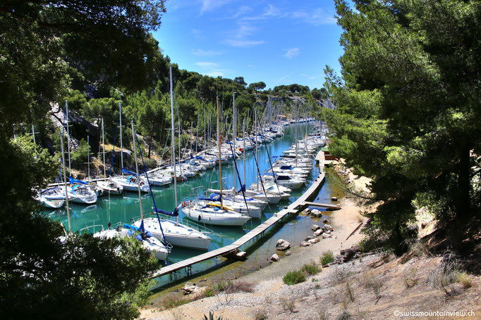 Blick in die Calanque de Port Miou