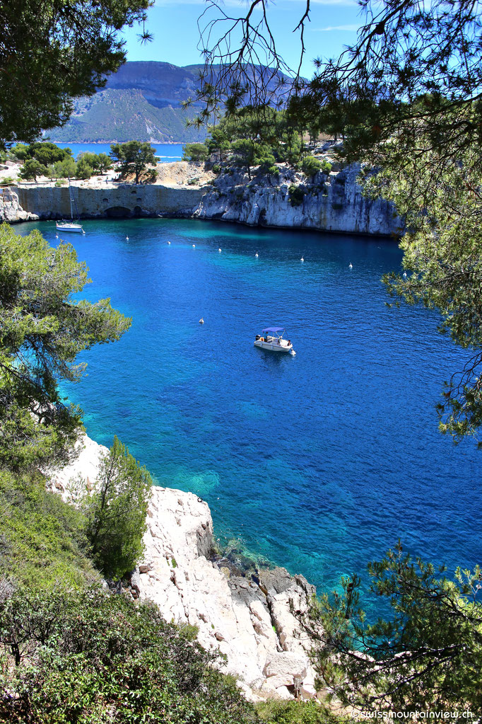 Blick in die Calanque de Port Pin