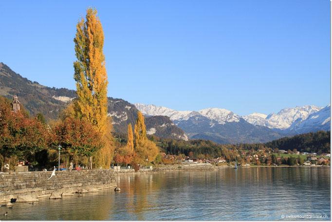 Doch auch hier dem See entlang gibt es einige Fotohalte,