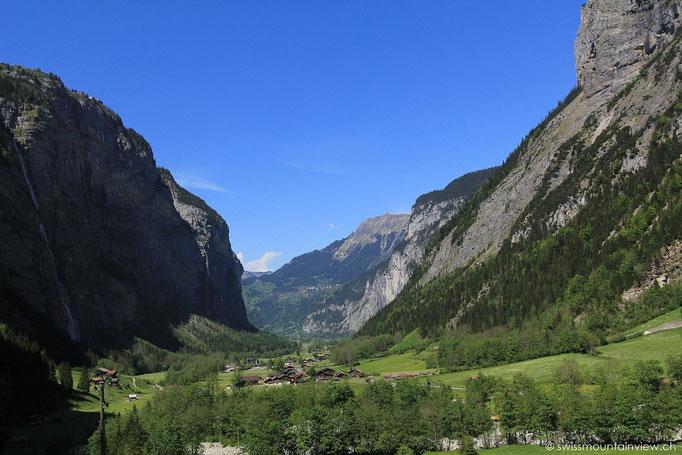 Stechelberg - Blick ins Lauterbrunnental