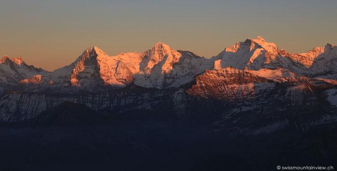 Nach dem Sunset das Alpenglühn