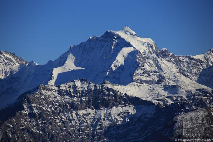 und die Jungfrau - 4'158 m