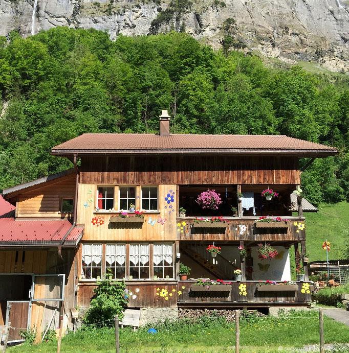 Stechelberg - zuhinterst im Lauterbrunnental
