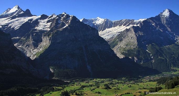 hoch nach Grindelwald First.