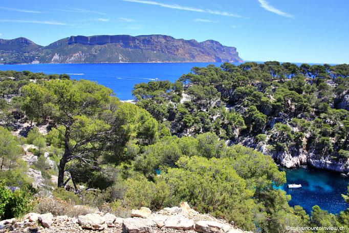 Blick in die Calanque de Port Pin