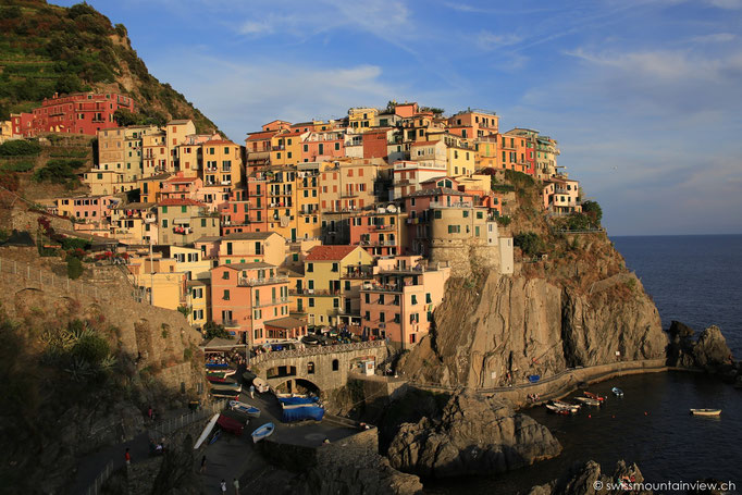 Manarola in the evening ligth