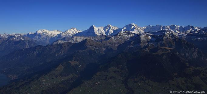 das imposante Dreigstirn des Berner Oberlandes